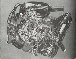 Chevy 427-cid V-8 Engine