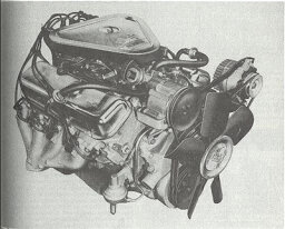 Chevy 454-cid V-8 Engine