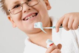 What if a child eats fluoride toothpaste?
