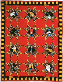 Circus Stars Quilt Pattern