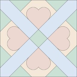Cupid's Own Quilt Block