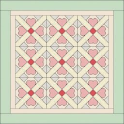 Cupid's Own Quilted Wall Hanging Pattern