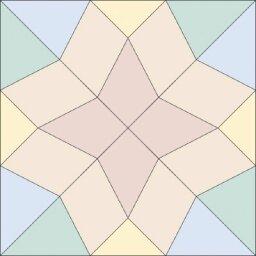 Diamond Star Quilt Block