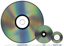 What is a MiniDisc and how does it differ from a CD?