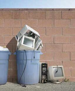 What happens to your discarded old computer?