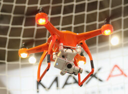 How are drones changing media coverage?