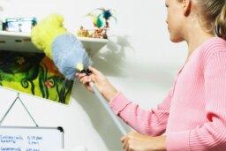 How often should you dust your dorm room?