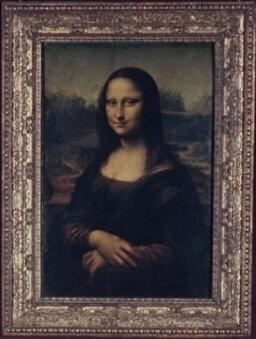 Why do the eyes in paintings seem to follow you sometimes?