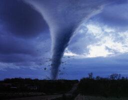 What is it like in the eye of a tornado?