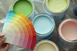 How do I find out the VOC content of paint?
