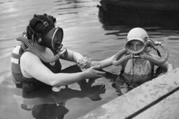 Who was the first scuba diver?