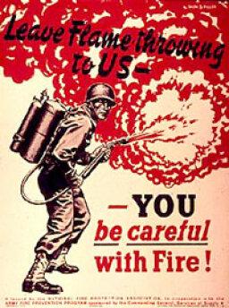 How Flamethrowers Work
