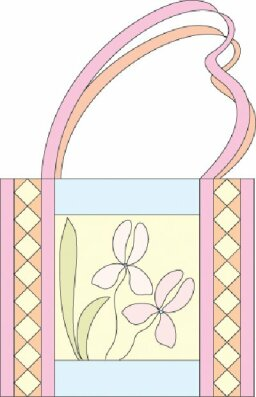 Floral Quilted Purse Pattern