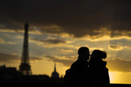 Did French kissing start in France?