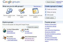 How Google Groups Works