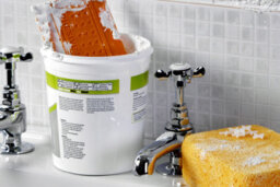 How to Use a Grout Scrubbing Tool
