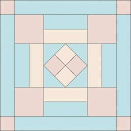 Handweave Quilt Block