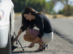 Could anti-lock brakes detect a flat?