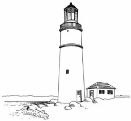 How to Draw Lighthouses in 4 Steps