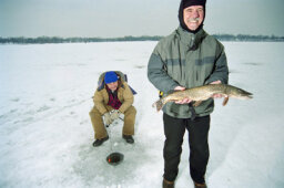 How Ice Fishing Works