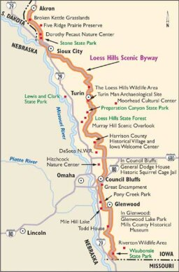 Iowa Scenic Drives: Loess Hills Scenic Byway