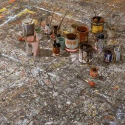 How Jackson Pollock Worked