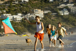 Are kids with dogs more active?