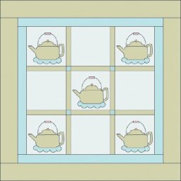 Kitchen Kettle Quilted Wall Hanging Pattern
