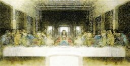 Are there secret messages in da Vinci's 'The Last Supper'?
