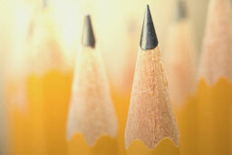 How do they get lead in a wooden pencil?