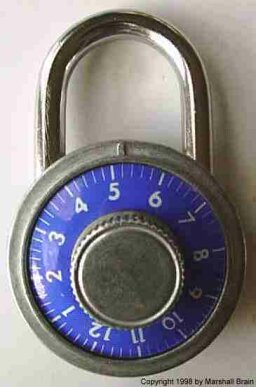 Inside a Combination Lock