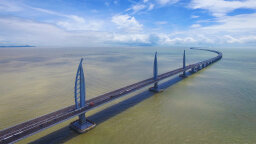 Meet the World's Longest Sea-Crossing Bridge