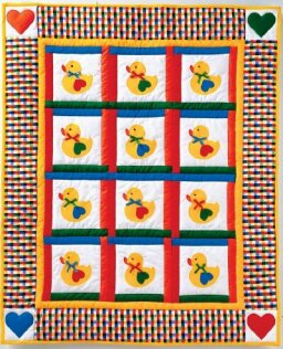 Lucky Ducky Quilt Pattern