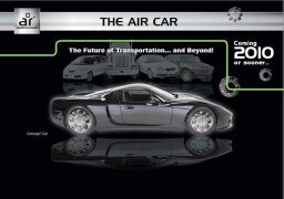What is the technology behind the magnetic air car?