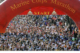 How the Marine Corps Marathon Works