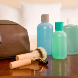 What should all men pack in their hygiene bag?