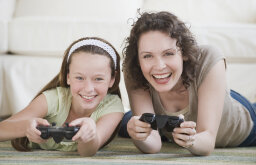Are there video games designed for moms?