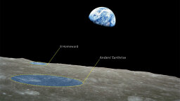 Two Moon Craters Named for Apollo 8 Astronauts