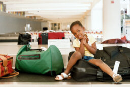 Are morning flights or evening flights better for kids?
