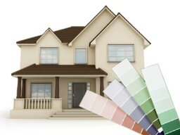 What are the most used exterior house colors?