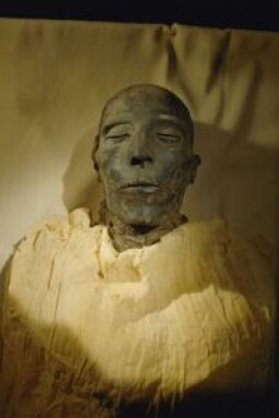 Could someone really find a mummy in his backyard?