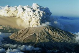 How is volcanic ash made?