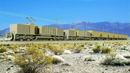 A Train That Goes Nowhere Could Change How We Store Energy