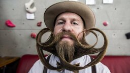 The 15 Most Astounding Images from the 2015 World Beard & Moustache Competition