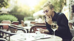 Wine Before a Cigarette Could Mitigate Some Harmful Effects of Smoking