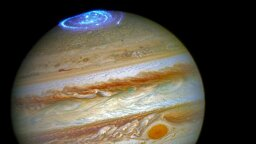 Hubble Captures New Images of Jupiter's Northern Lights