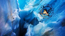 Watch this Flying Spheroid Drone Explore a Glacial Ice Cave