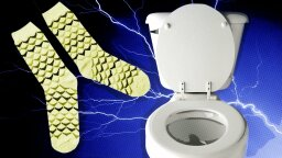 Would You Pee Into Your Socks to Power Your Phone, Save Your Life?