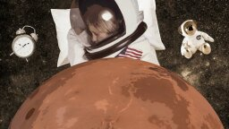 Not a Morning Person? Your Body's Circadian Rhythms Could Ease Mars Colonization