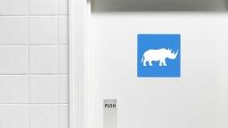 White Rhinos Communicate via Massive Communal Poop Piles